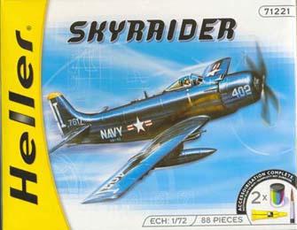 Caja Skyraider Revell