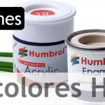 Tabla de colores Humbrol