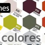 Cartas de colores Tamiya
