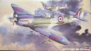 Caja Spitfire Mk IXc Hasegawa 1/48