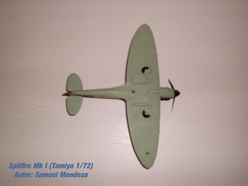 Spitfire Mk.I Tamiya 1/72 (1)