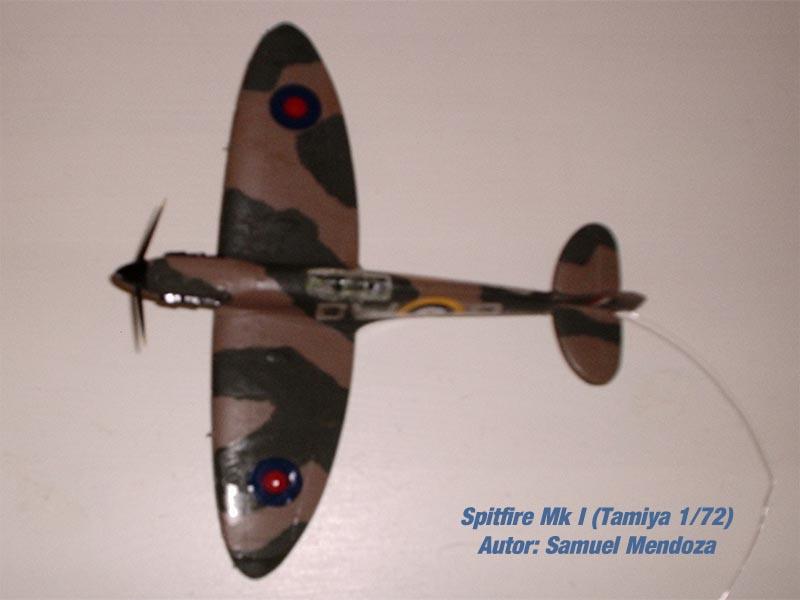 Spitfire Mk.I Tamiya 1/72 (2)
