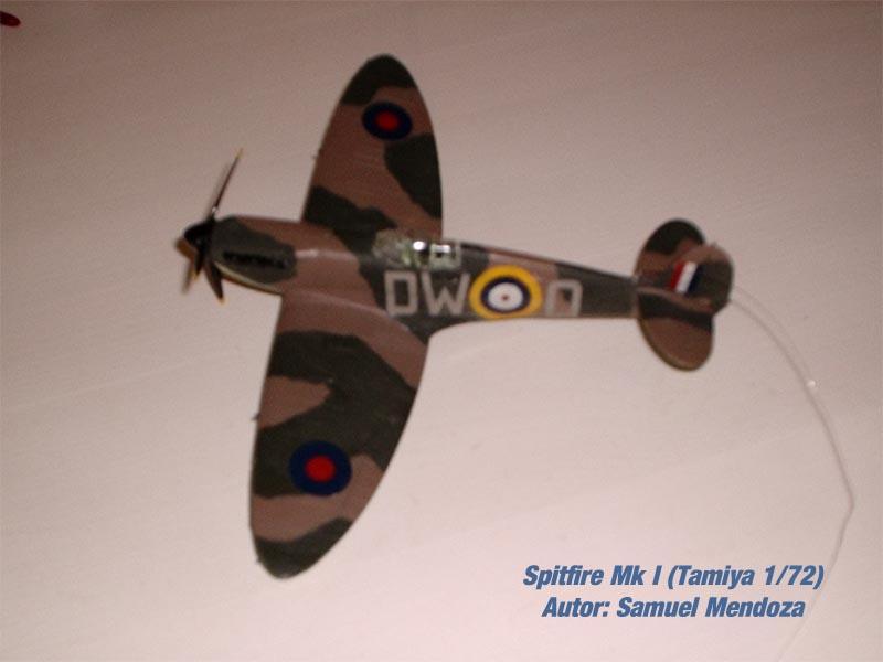 Spitfire Mk.I Tamiya 1/72 (5)