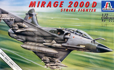 Mirage 2000 Italeri