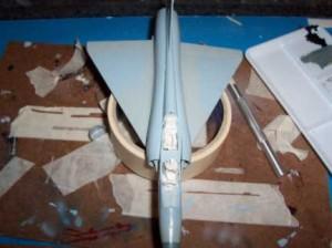 Mirage pintado camuflaje