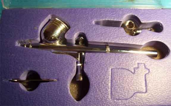 Caja aerógrafo AB-300