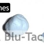 La masilla Blu Tack
