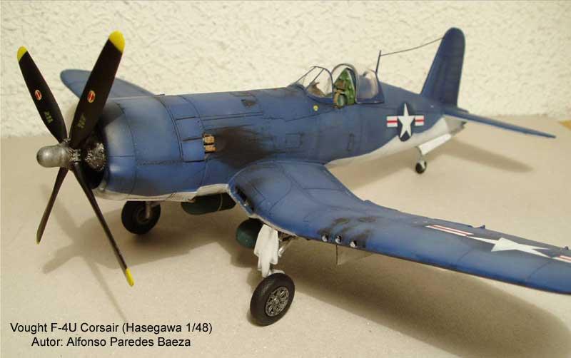 F-4U Corsair Hasegawa 1