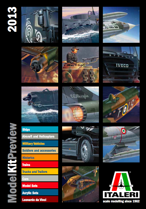 Novedades catalogo Italeri 2013