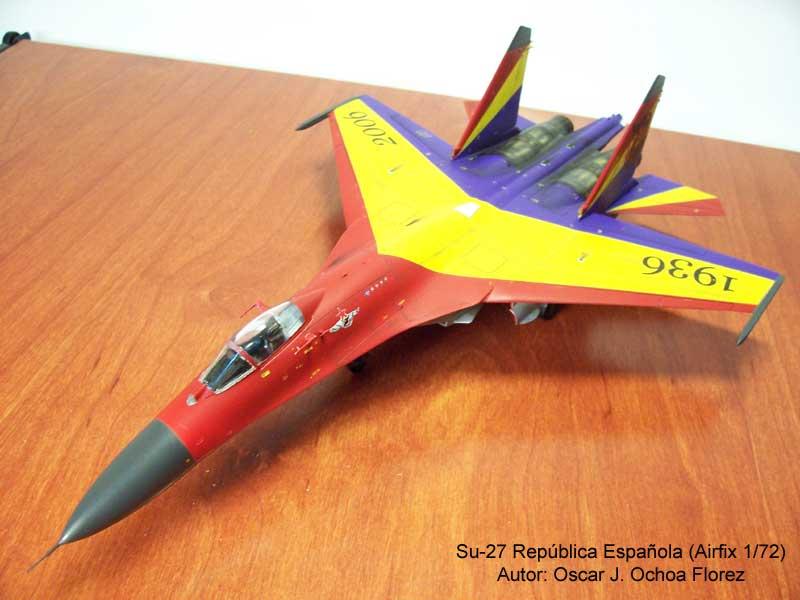 Airfix Su-27 1
