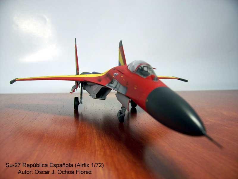 Airfix Su-27 3