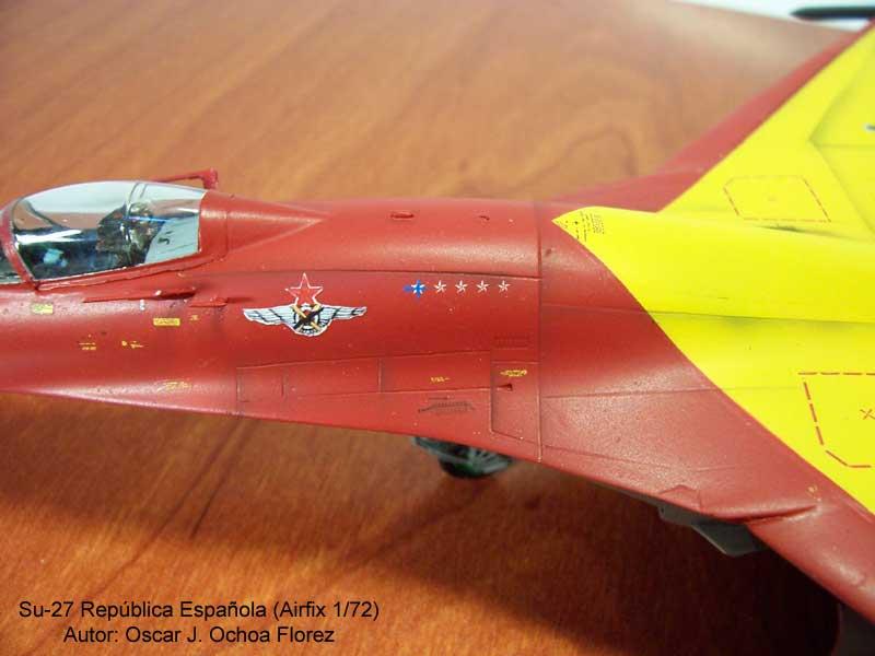 Airfix Su-27 5