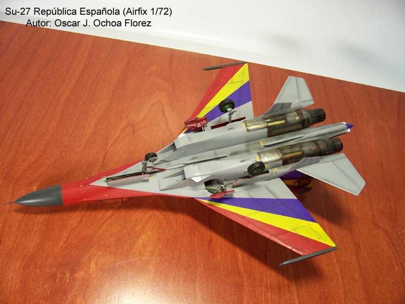 Airfix Su-27 8
