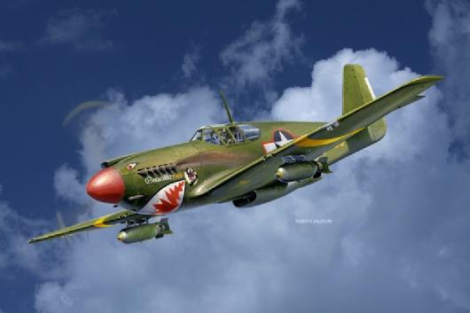 A-36 Apache de Italeri