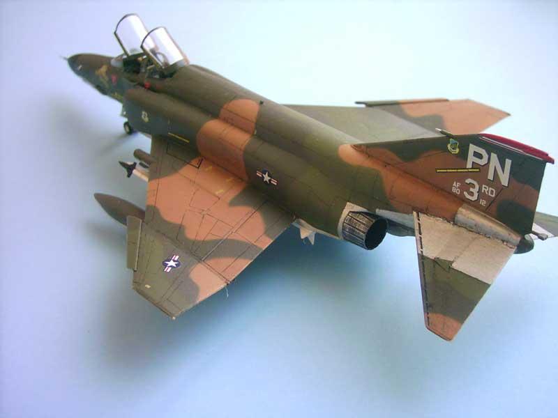 Maqueta F-4E Phantom II Esci 5