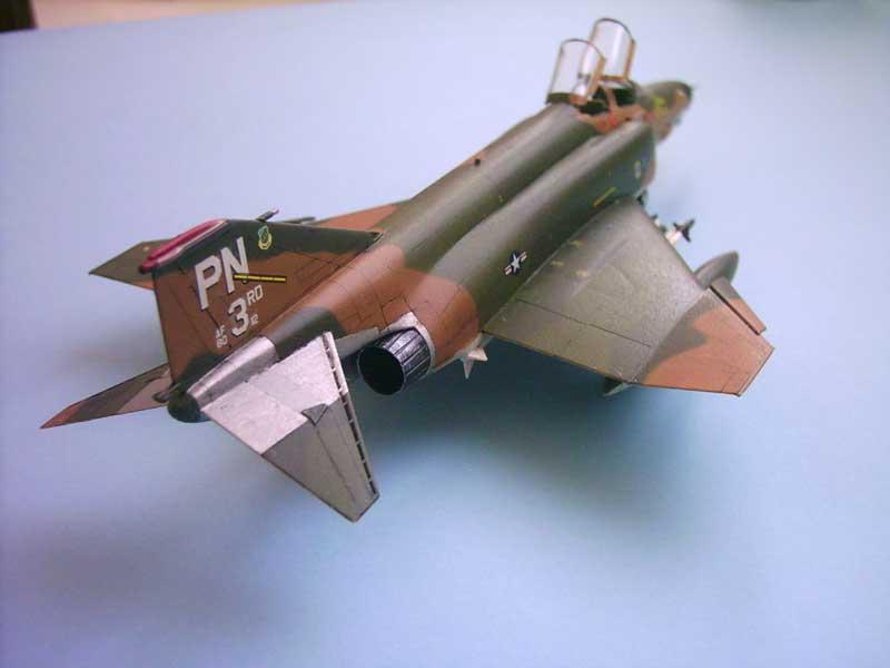 Maqueta F-4E Phantom II Esci 6