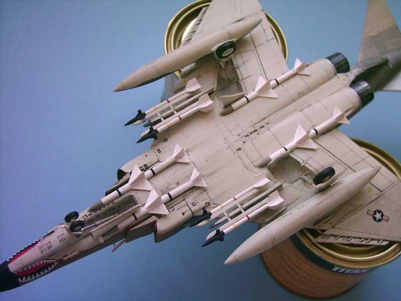 Maqueta F-4E Phantom II Esci 8