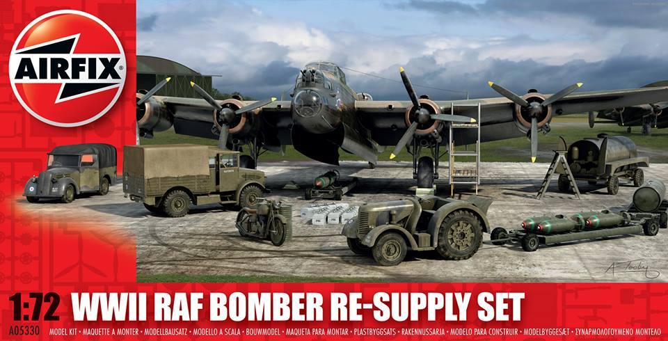 Airfix equipo de tierra para bombarderos