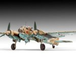 Revell presenta una nueva maqueta del Ju-88 A4