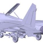 Próxima maqueta de Su-27 de Zvezda