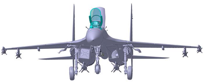 maqueta-su-27-3D-3