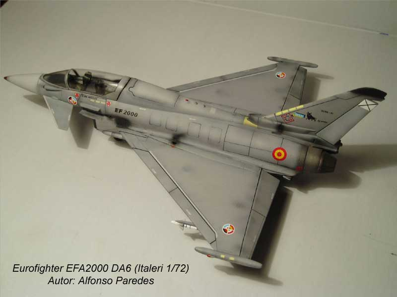 Maqueta Eurofighter Italeri 1