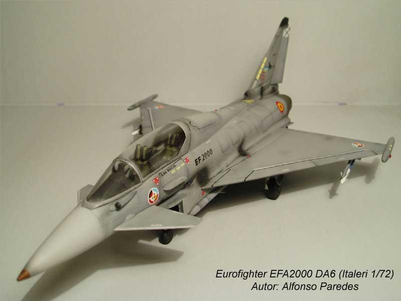 Maqueta Eurofighter Italeri 2