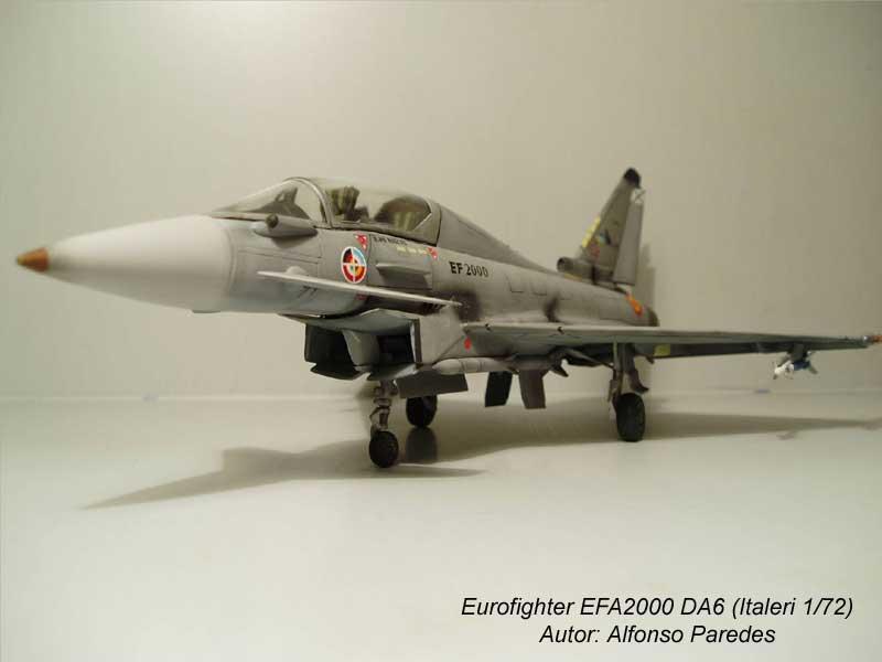 Maqueta Eurofighter Italeri 3