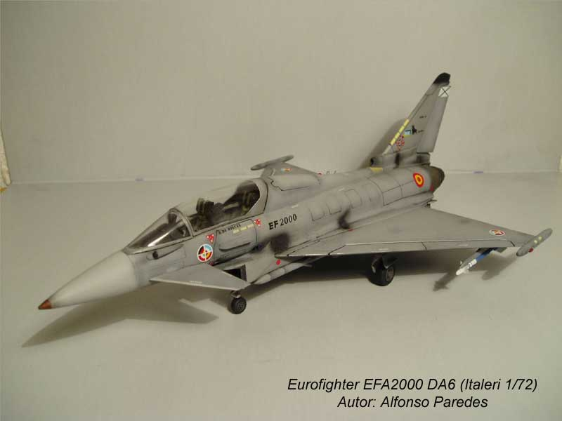 Maqueta Eurofighter Italeri 4