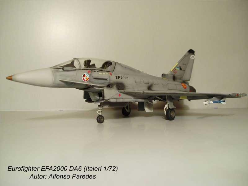 Maqueta Eurofighter Italeri 5