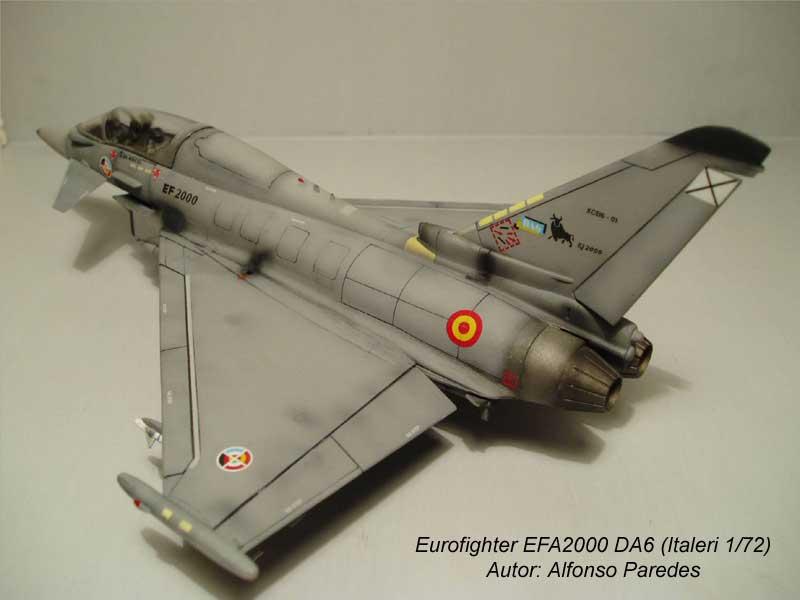 Maqueta Eurofighter Italeri 6