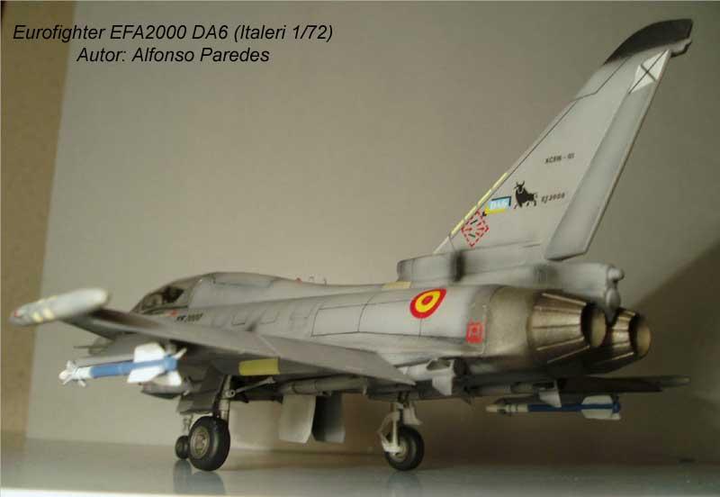 Maqueta Eurofighter Italeri 7