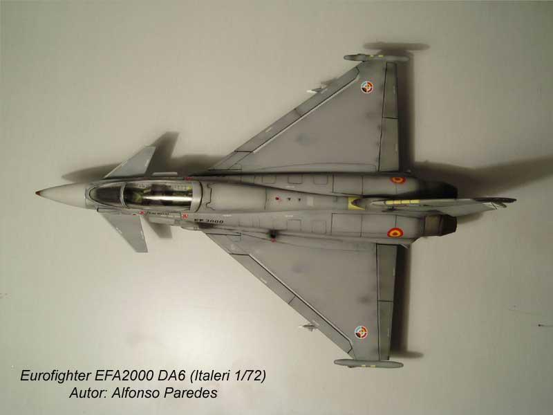 Maqueta Eurofighter Italeri 8