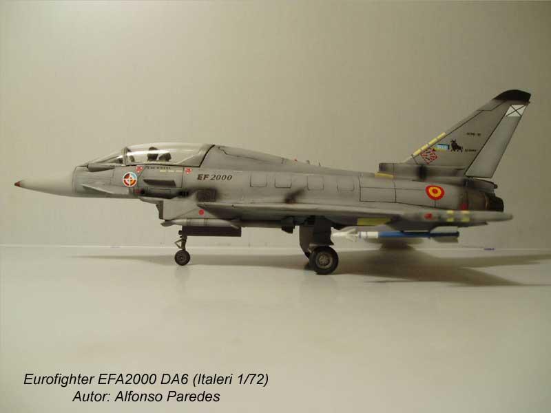 Maqueta Eurofighter Italeri 9
