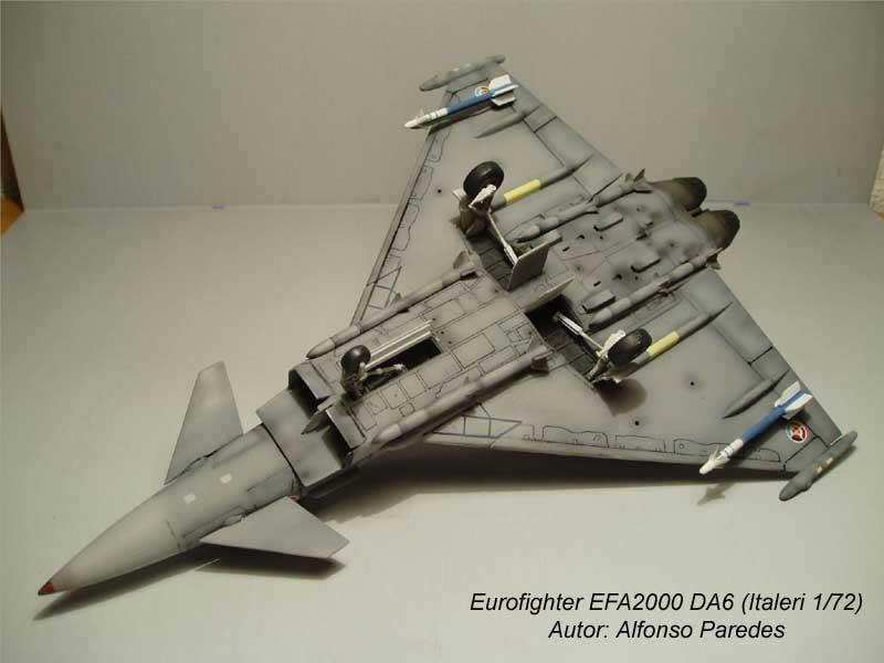 Maqueta Eurofighter Italeri 10