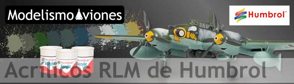 Colores Humbrol RLM