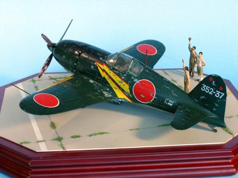 Maqueta Hasegawa Raiden 6