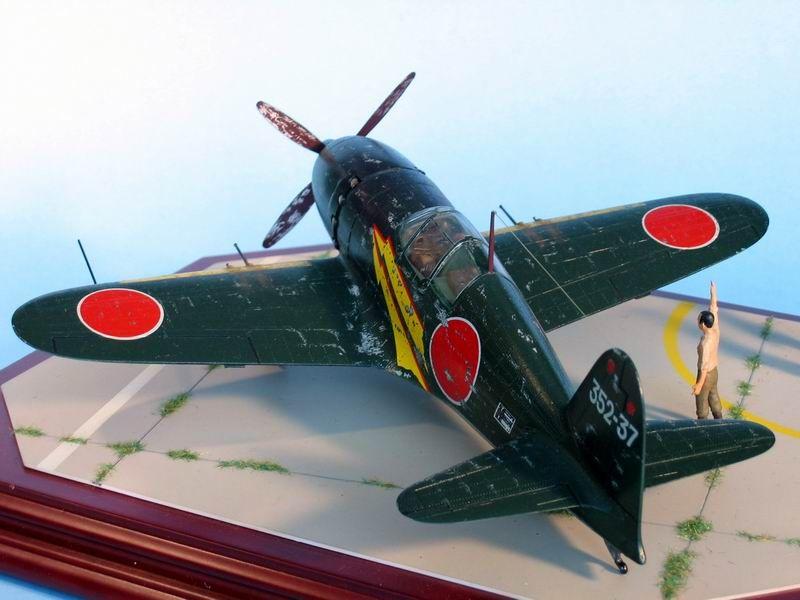 Maqueta Hasegawa Raiden 7