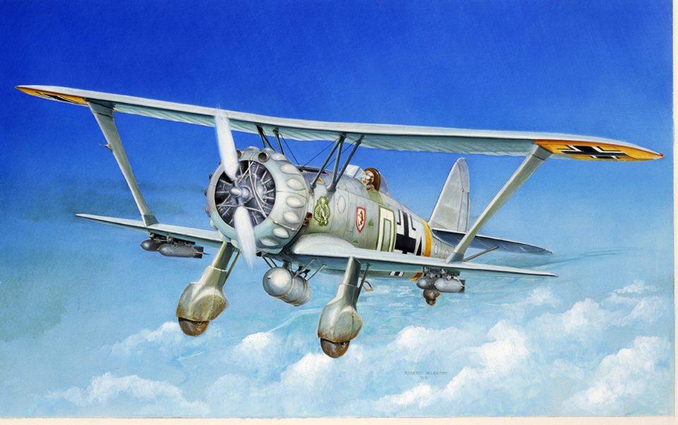 Italeri Hs-123 A-1