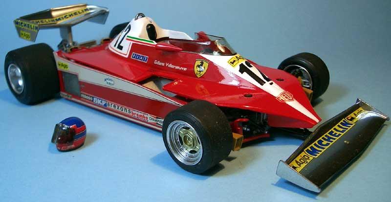 Tamiya Ferrari 312 01