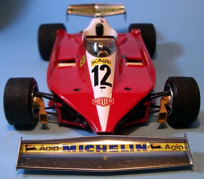 Tamiya Ferrari 312 02