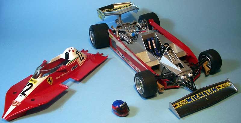 Tamiya Ferrari 312 04