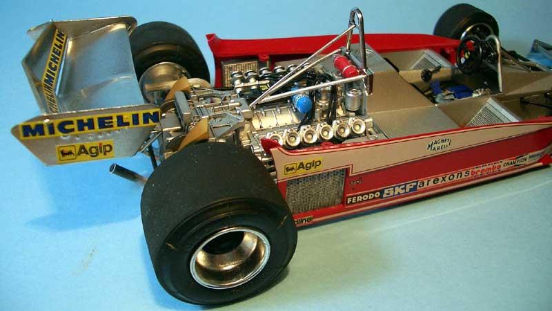 Tamiya Ferrari 312 07