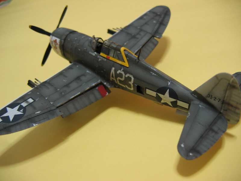 Tamiya P-47 01
