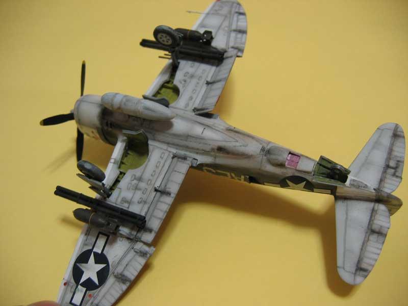 Tamiya P-47 04