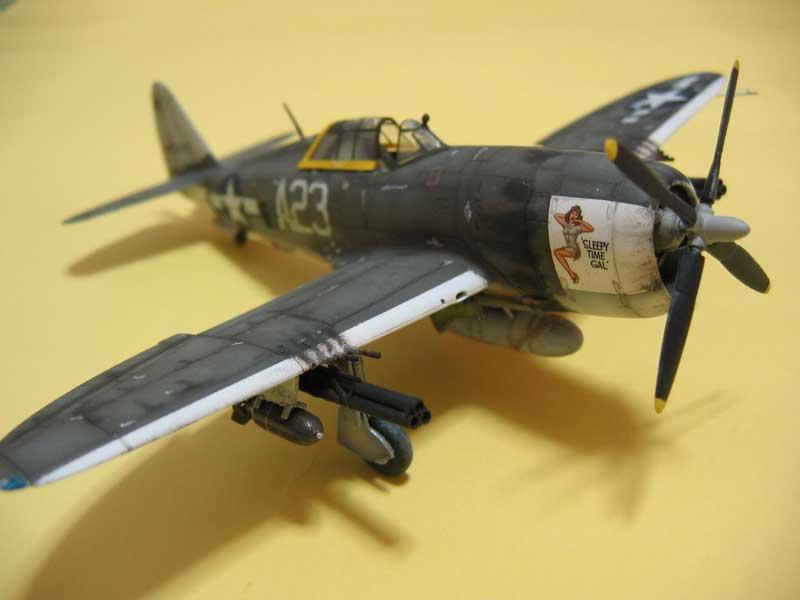 Tamiya P-47 06