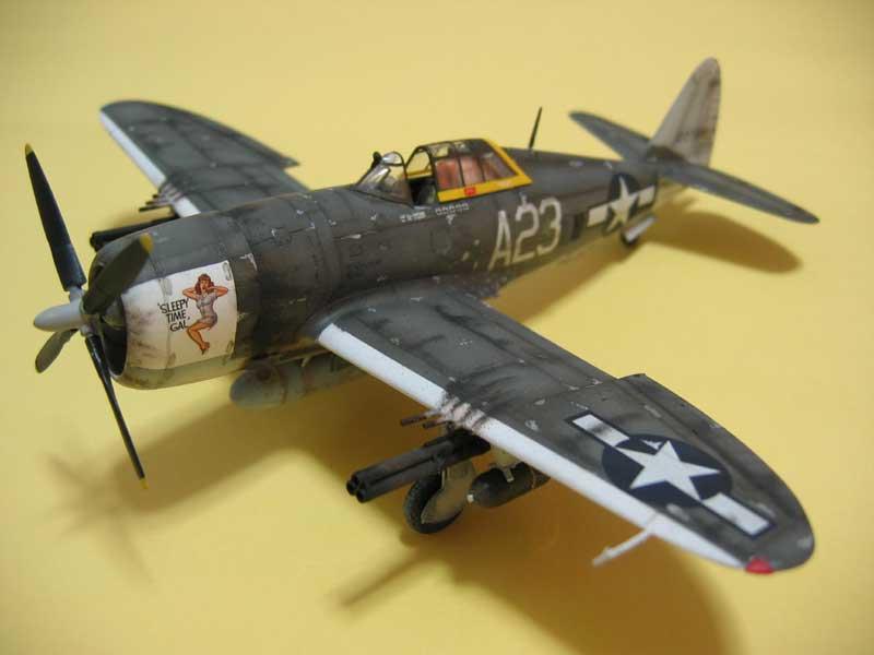 Tamiya P-47 08