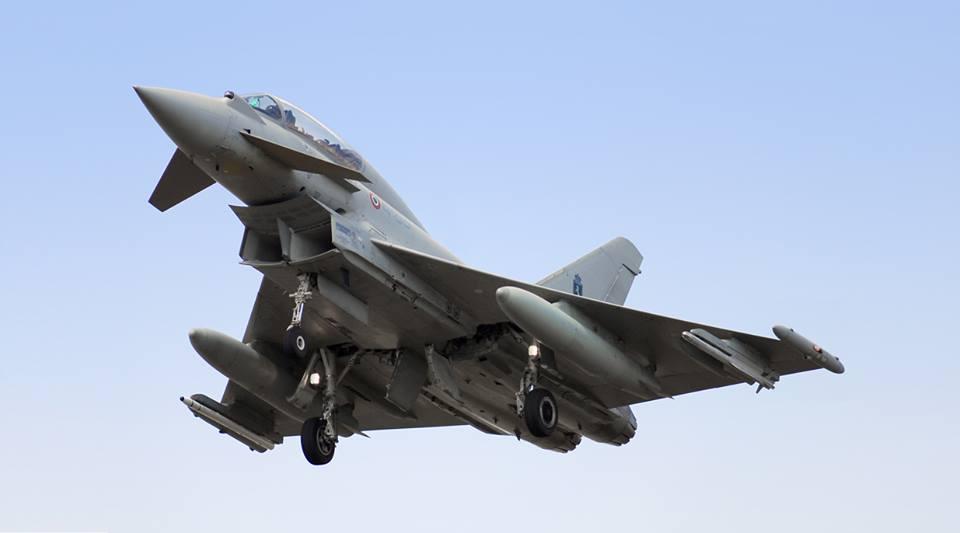 Eurofighter 1340 Italeri