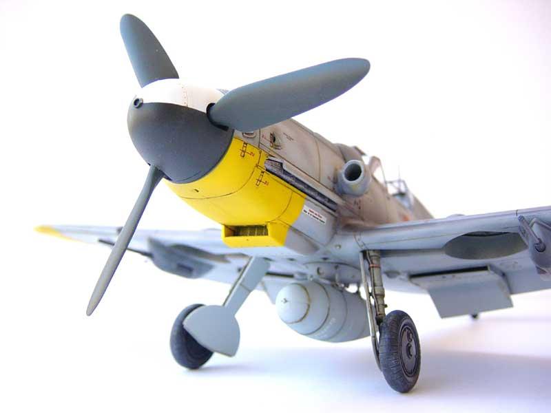 Hasegawa Bf 109 G6 02