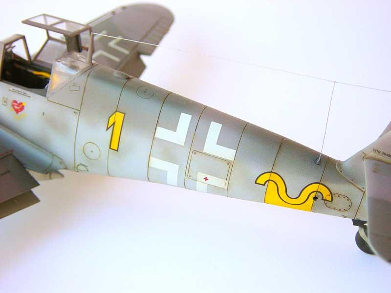 Hasegawa Bf 109 G6 03